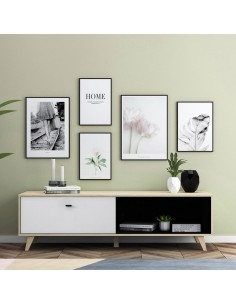 Kajani  Meuble TV en bois tiroir